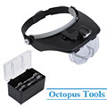 Headband LED Lighted Magnifier