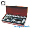 Ratcheting Screwdriver and Socket Set 24pcs/set 3/8