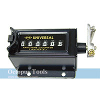 6 Digit Resettable Mechanical Stroke Counter