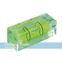 Plastic Square Spirit Level Vials 15x40mm
