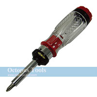 Ratcheting Screwdriver and Bit Set