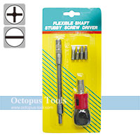 Ratcheting Screwdriver and Bit Set 6pcs/set