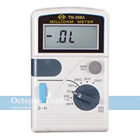 Digital Insulation Resistance Tester TM-508A