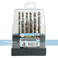 Cobalt Drill Bit Set 1.5-6.5mm 13 Piece