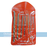 HSS Twist Drill Bit Set 0.8-3mm (7pcs)