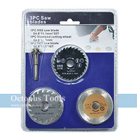 HSS Saw Disc Wheel Diamond Cutting Blades 6mm shank