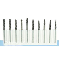 Tungsten Carbide Rotary Burr 10pcs/set